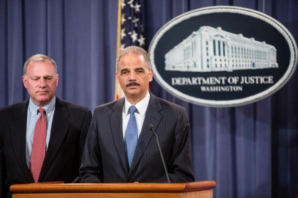 Attorney General Holder Announces Antitrust Suit Against Apple