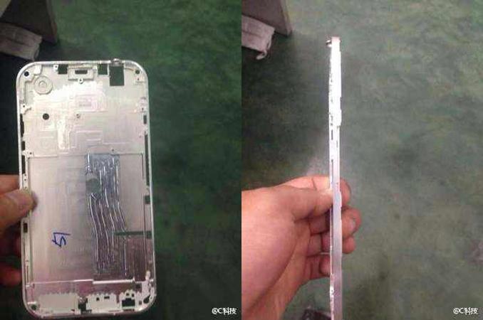 iPhone 6의 프로토 타입으로 보이는 부품 유출?