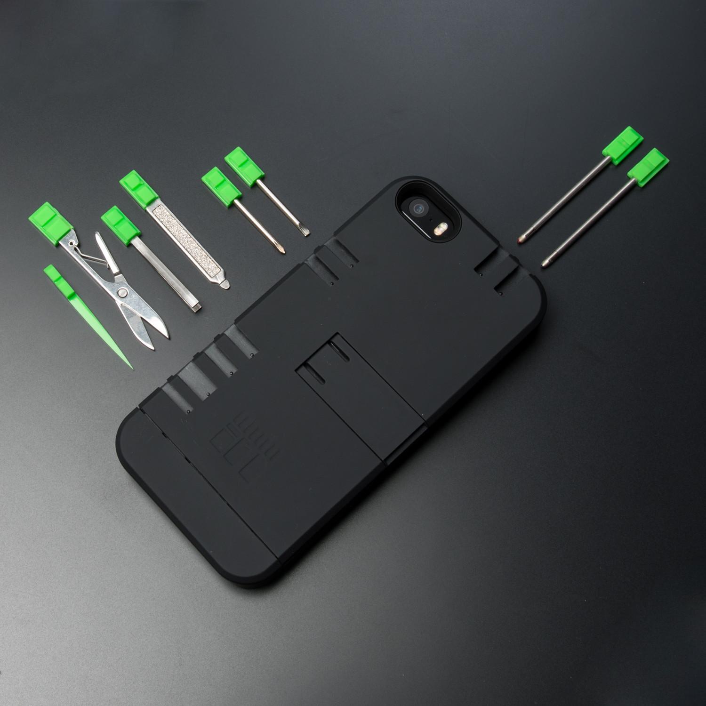 맥가이버칼 iPhone 5 케이스, Black Case