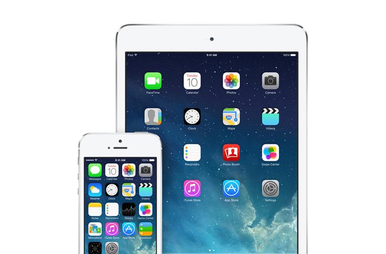 iOS 7, 플랫이 아닌 깊이