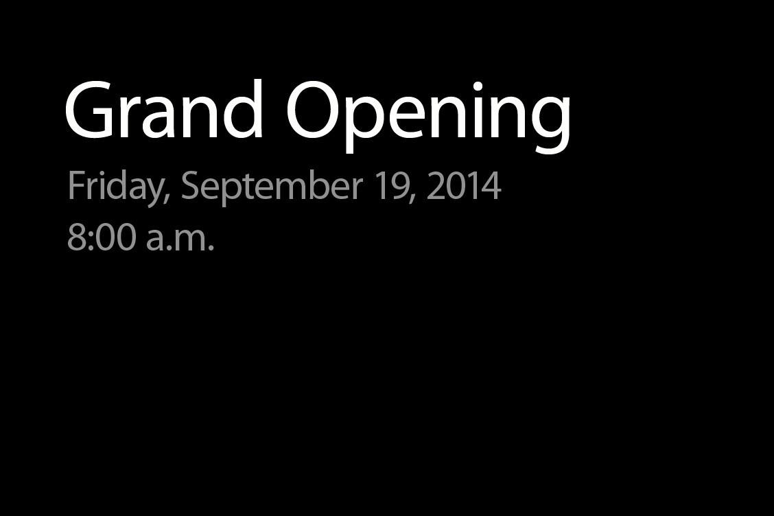 미국 버지니아에 새로운 Apple Store 오픈.