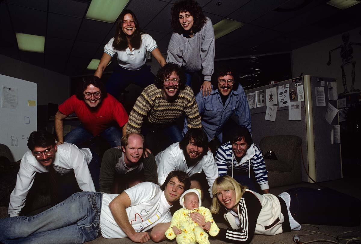 Mac Design Team, Cupertino 1984