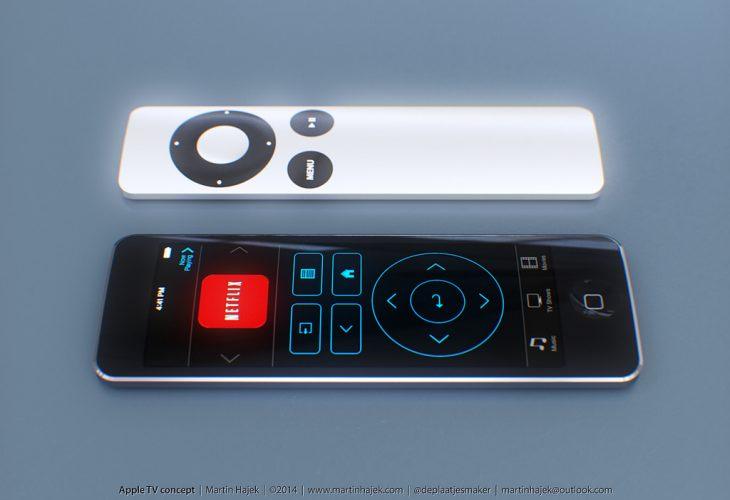 여름 발매 예정인 4세대 Apple TV 는 Touch Pad를 탑재 한 새로운 Apple Remote가 제공 될 예정?