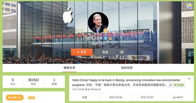 data_news_Tim_Cook_Weibo
