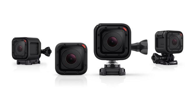 GoPro 작고 가벼운 방수 액션 캠 HERO4 Session 발표.