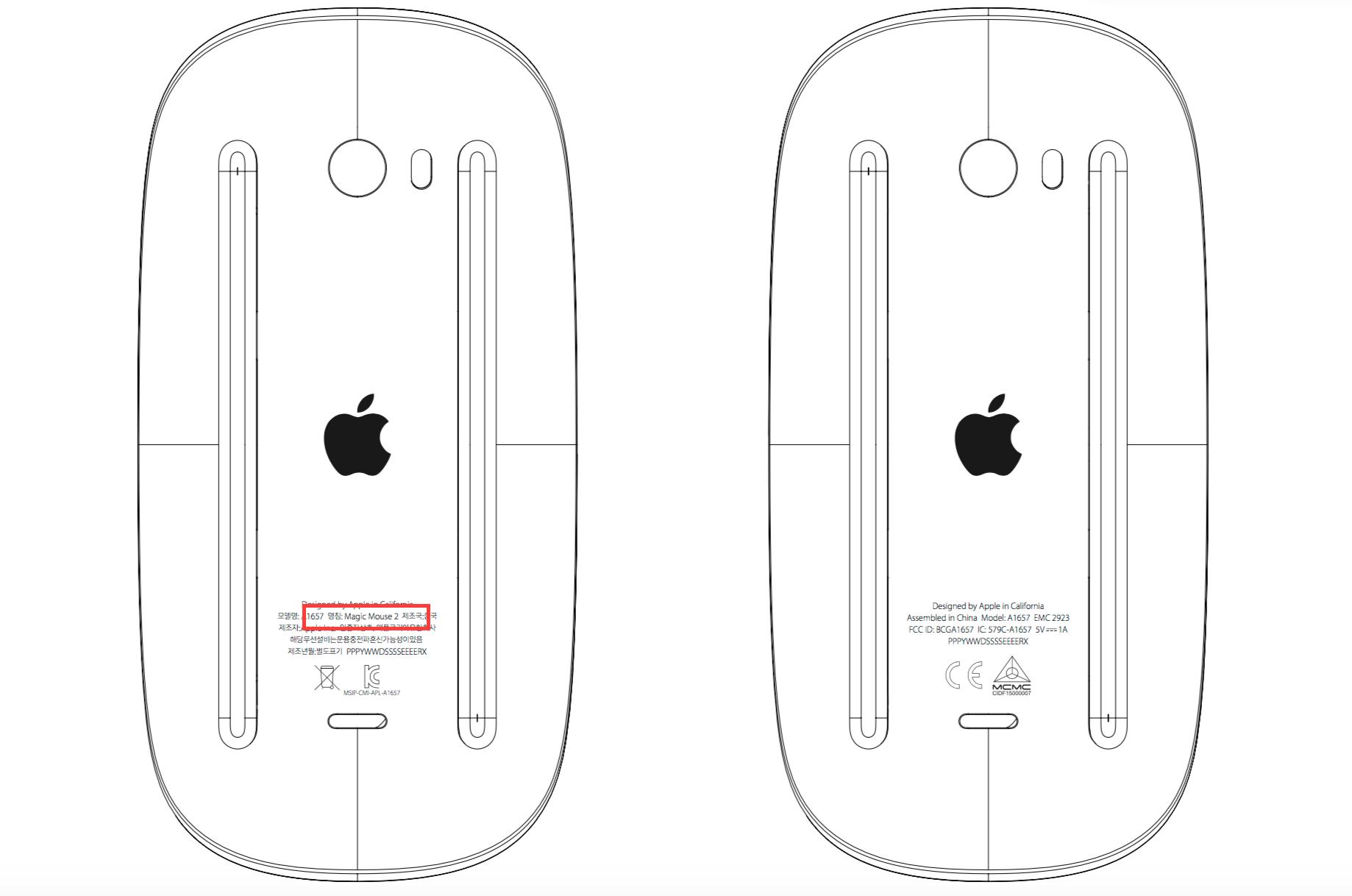 새로운 Magic Mouse와 Wireless Keyboard 출시 준비?
