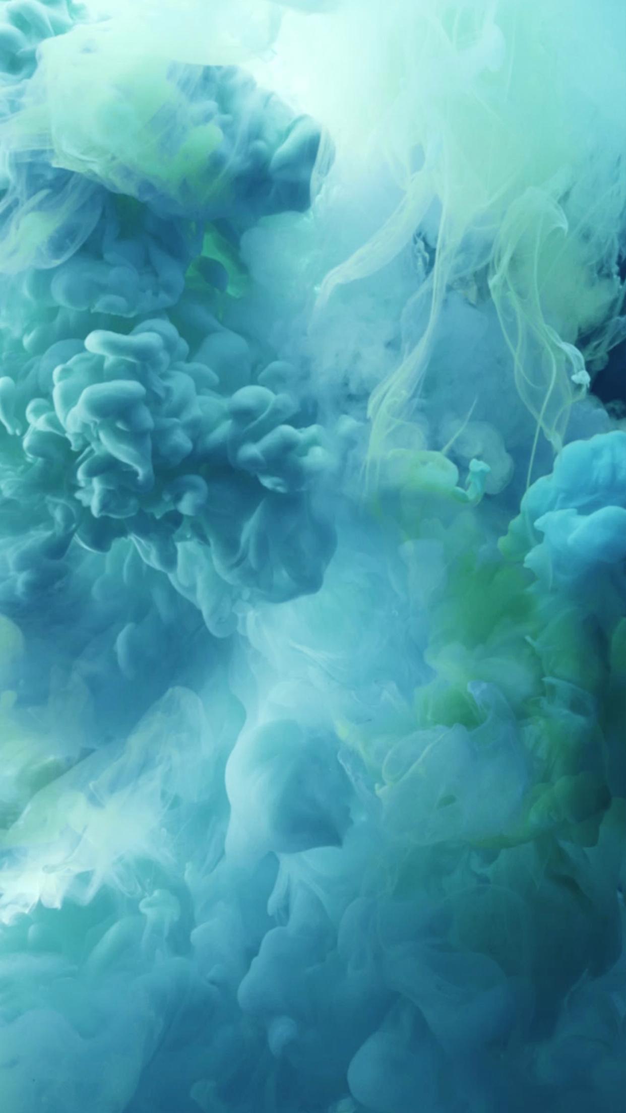 iPhone-6s-Blue-Ink-Wallpaper