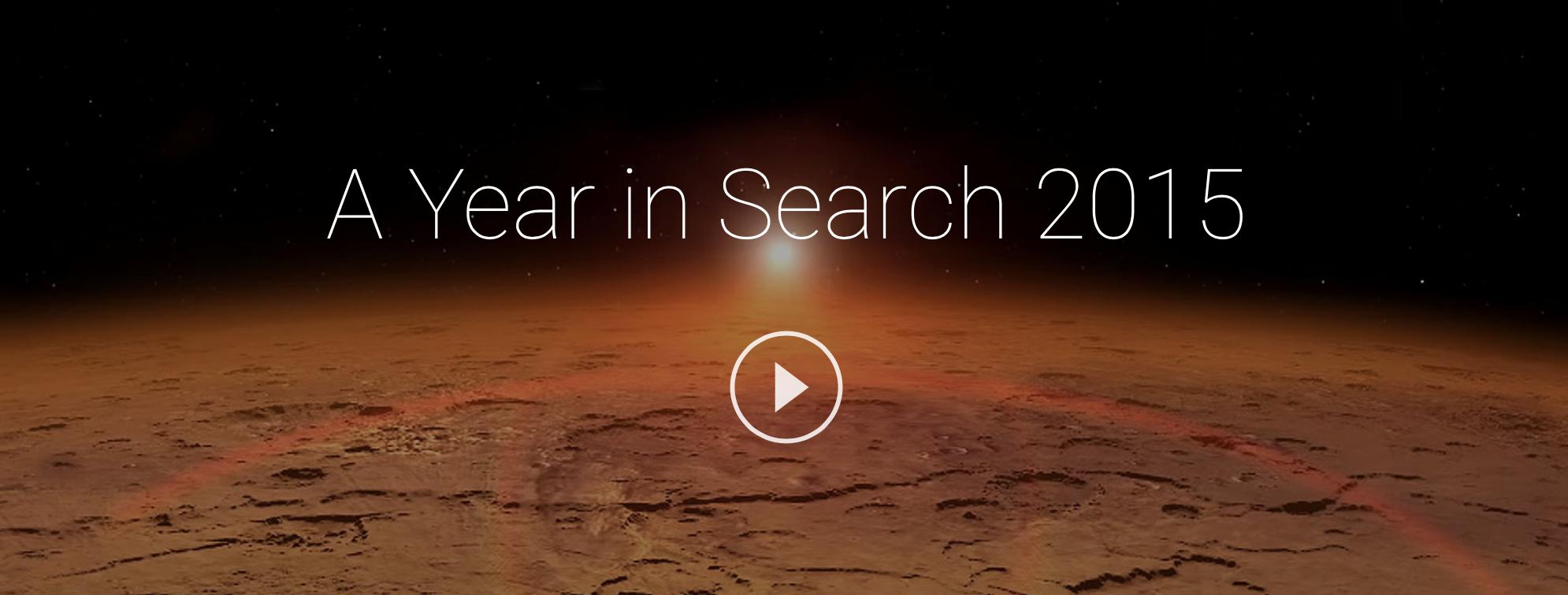 구글 올해의 검색 인기 차트 발표.