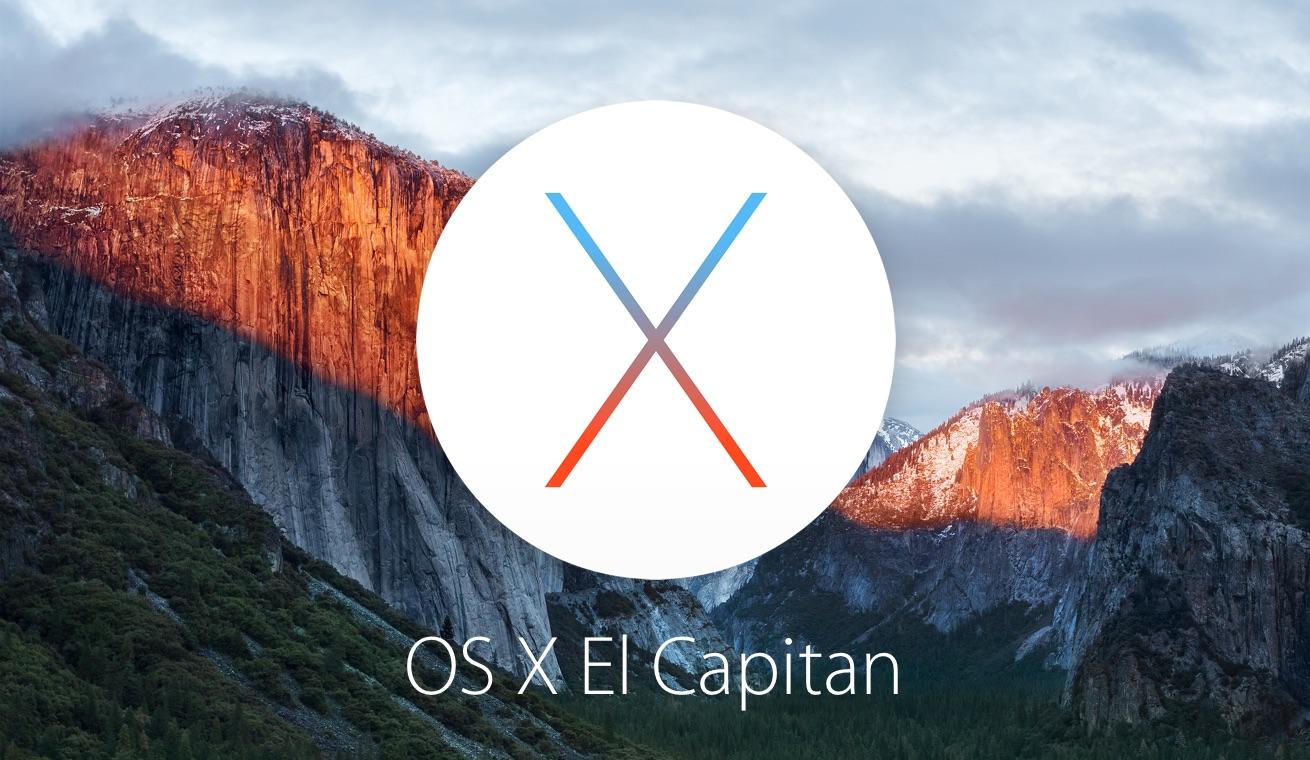 안정성, 호환성 및 보안이 향상된 OS X El Capitan 10.11.4 업데이트.