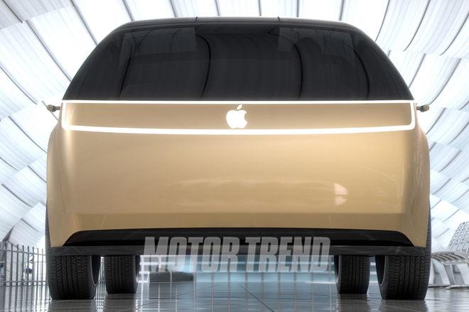 Apple-Car-front-end-render