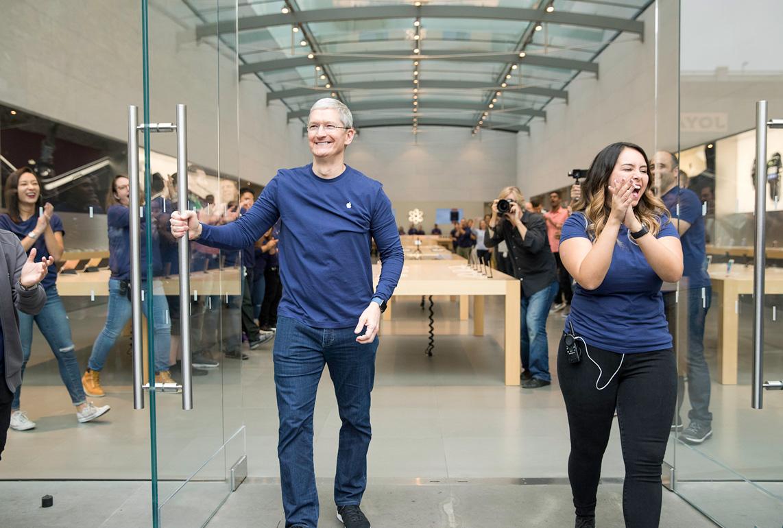 iPhone 7, 1차 출시 국가 사진