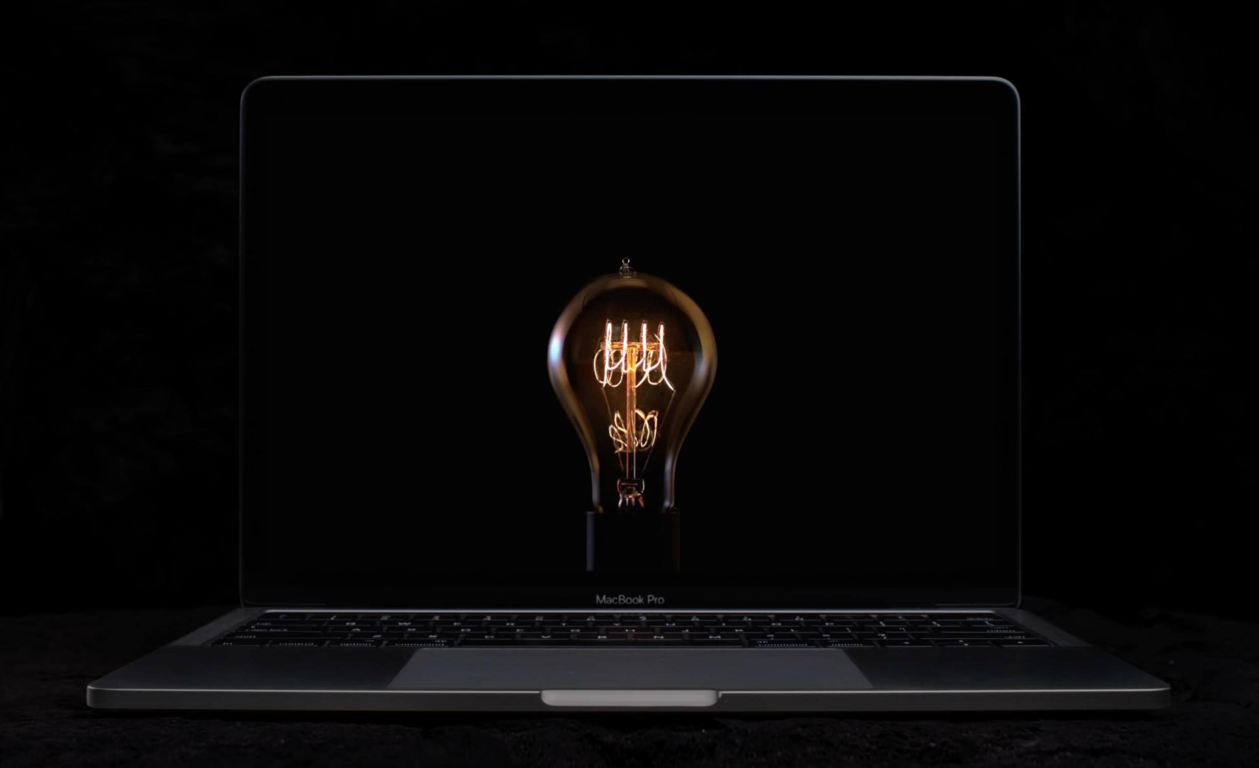 MacBook Pro TV광고 – Bulbs