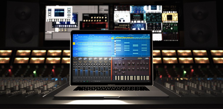 음악 제작 KORG Gadget – macOS 버전 발표
