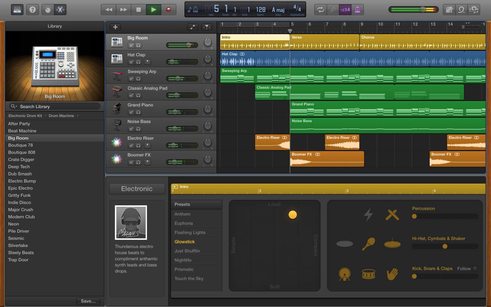 GarageBand for Mac 10.1.6 배포