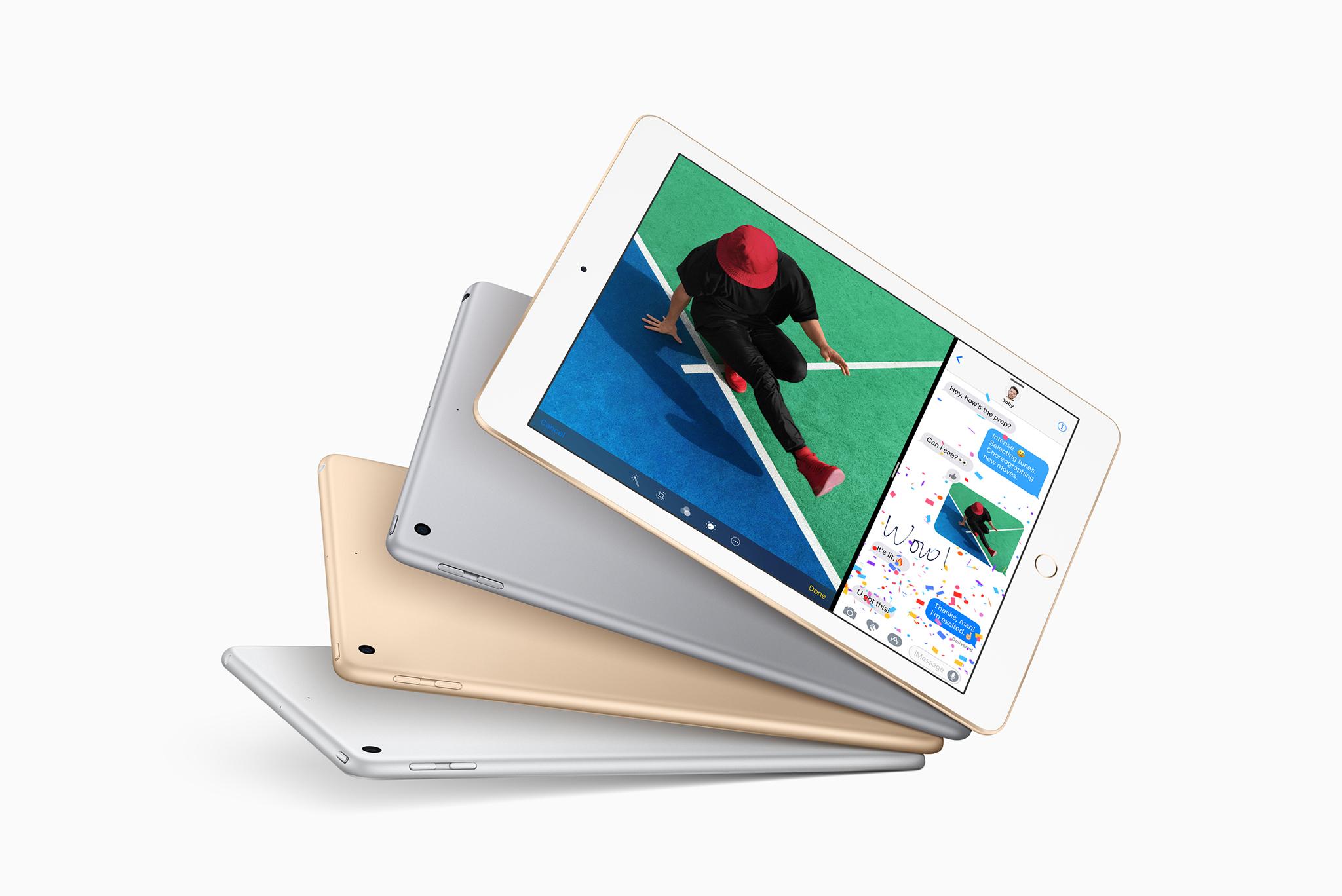 새로운 9.7인치 iPad 발표