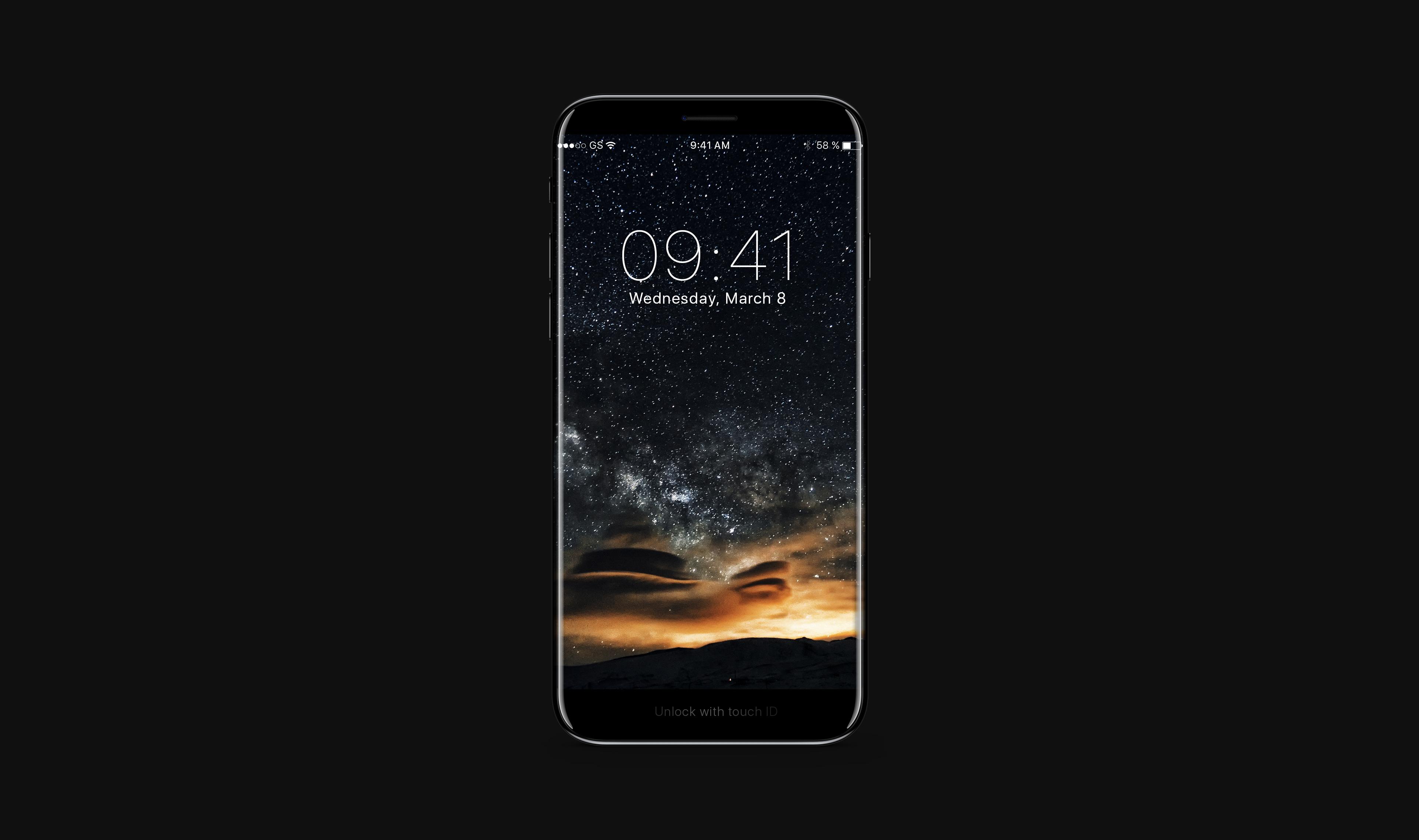 [루머] iPhone 8 컨셉 디자인 – 베젤리스 디자인