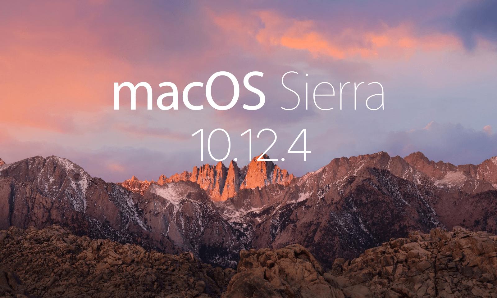 Night Shift 모드 탑재 – macOS Sierra 10.12.4 업데이트