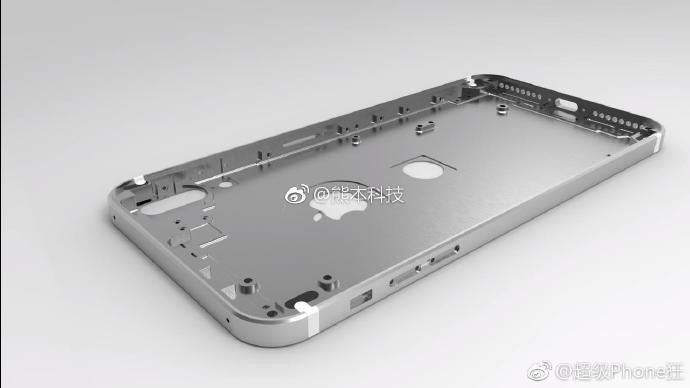 [루머] 뒷면 지문인식 iPhone 8 – 3D 부품 디자인