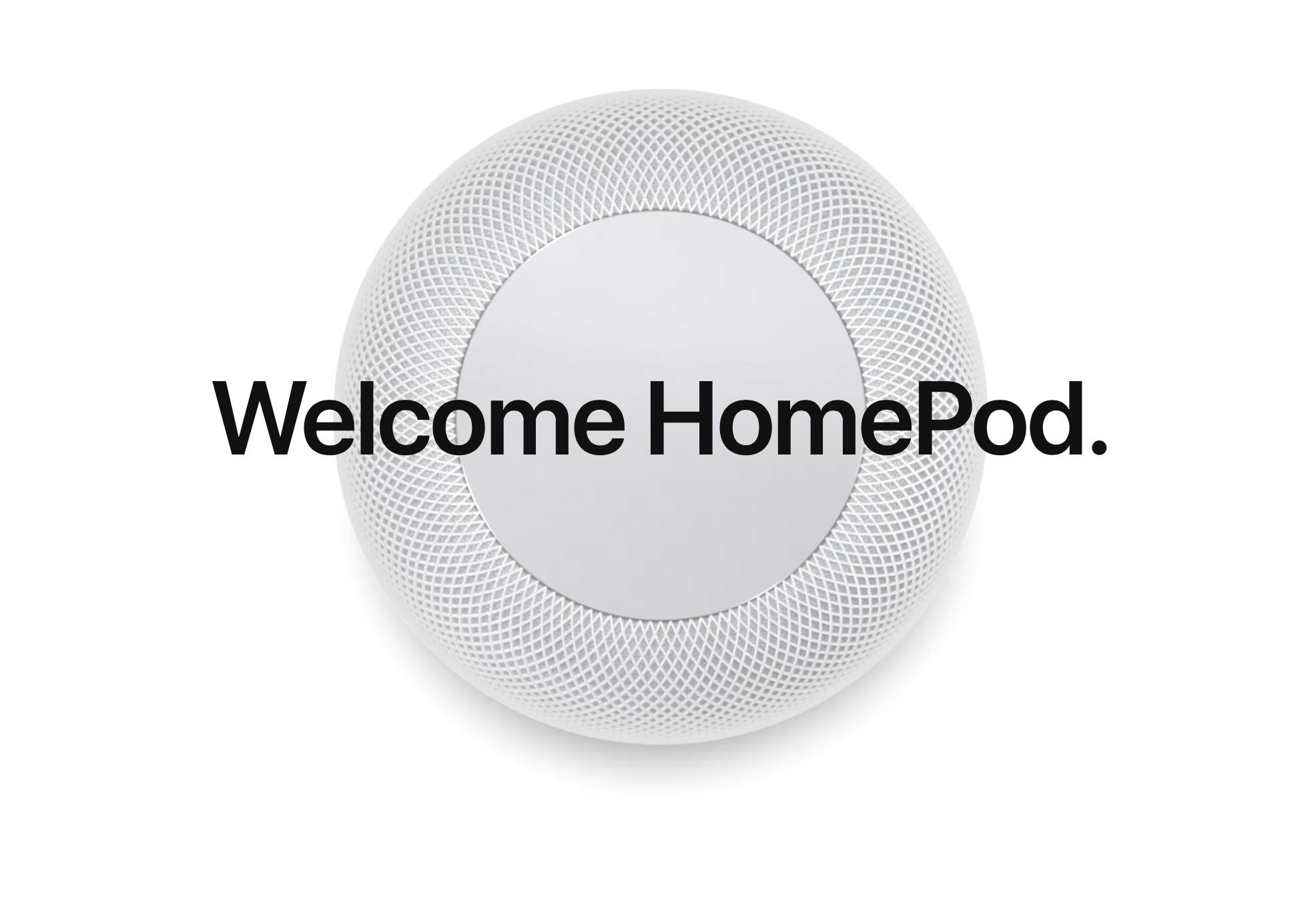 HomePod 스피커 발표 – WWDC 2017