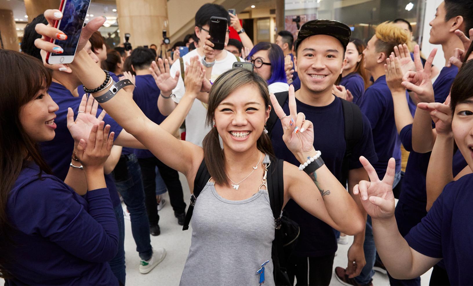 대만 최초 직영점 Apple Taipei 101 오픈