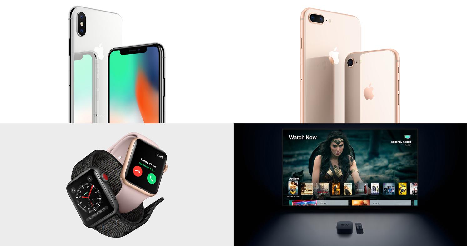 Apple 스페셜 이벤트 키노트 정리 : iPhone X, iPhone 8, iPhone 8 Plus, Apple Watch Series 3 발표