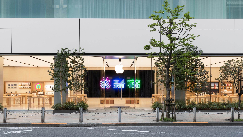 Apple 일본 도쿄 신주쿠에 새로운 매장 오픈