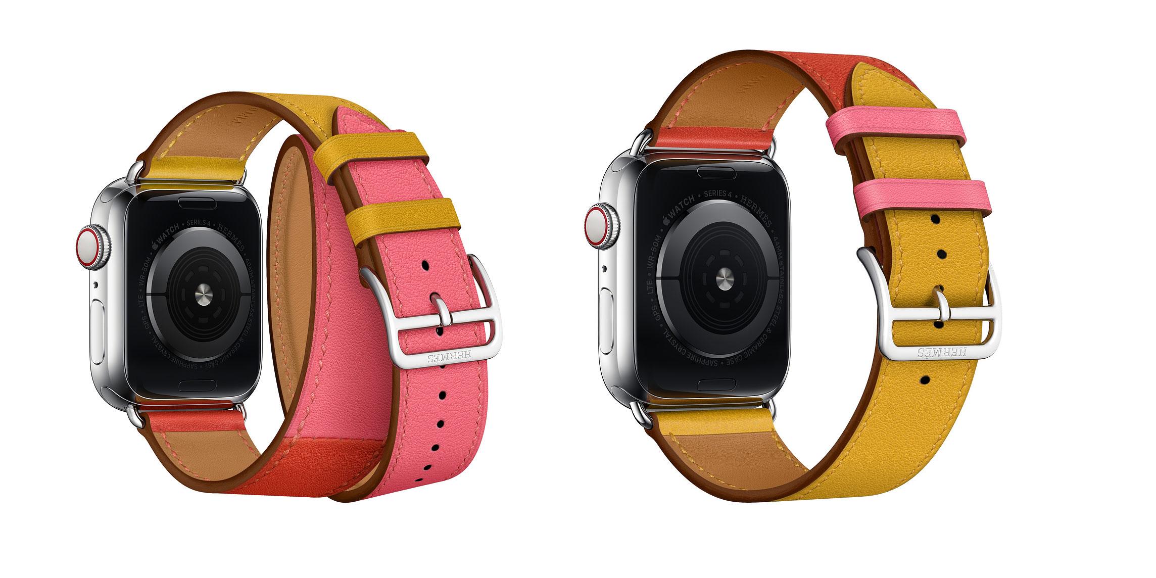 애플 뉴스룸 : Apple Watch Hermès 가죽 스트랩에 새로운 색상 추가 외 기사